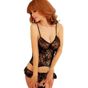 ANDI-ROSE-Sexy-Lingerie-Nightwear-Stockings-G-string-Thongs-Set-0