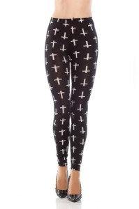 Amour-Women-Rock-X-ray-Skeleton-Bone-Skull-Leggings-Tights-Black-0