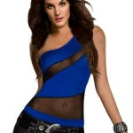 Amour-Womens-One-Shoulder-Tank-Top-1