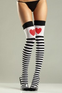 BE-WICKED-BW652-Striped-Thigh-Highs-With-Red-Hearts-0