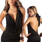 Deep-Plunging-Dress-Black-Open-Back-Halter-Style-1