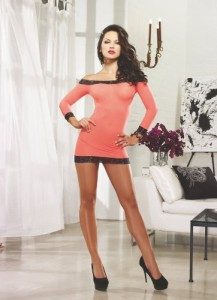 Dreamgirl-Womens-Stretch-Mesh-Dress-0