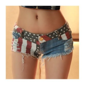 Hot-Sale-Very-Cool-American-Style-Womens-Shorts-M-0