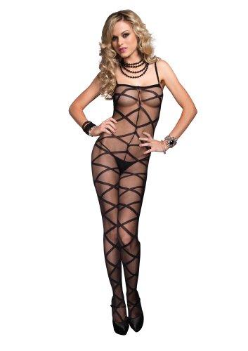 Leg-Avenue-Womens-Criss-Cross-Sheer-Body-Stocking-0
