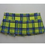 Sexy-School-Girl-Mini-Skirt-Stretchy-in-Pleated-Plaid-2