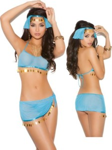 Sexy-Sheer-Blue-Harem-Girl-Belly-Dance-Costume-Lingerie-Set-0
