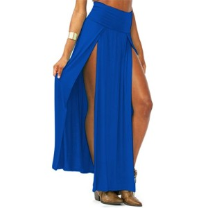 Voglee-Sexy-Trends-High-Waisted-Slits-Open-Long-Maxi-Skirt-0