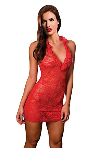 Ninimour-Sexy-Lingerie-Babydoll-Underwear-Bodysuit-0