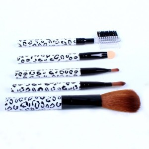 Ostart-5-Pcs-Cosmetic-Makeup-Tool-Brush-Kit-Travel-Set-White-0