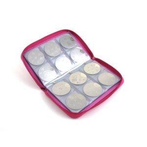 PUEEN-Super-Slim-168-Nail-Stamping-Plates-Synthetic-Leather-Holder-Case-Organizer-in-Hot-Pink-Rosy-Lace-Pattern-0