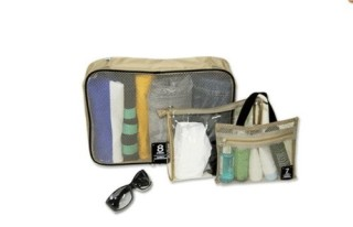 WSWS-Travel-Organizer-3-Type-Travel-Bags-Soft-Mesh-Material-Easy-Luggage-Organizer-Khaki-0